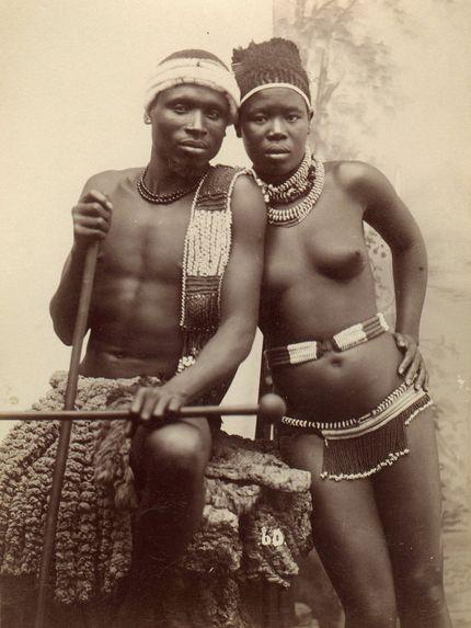 Deux époux Cafres