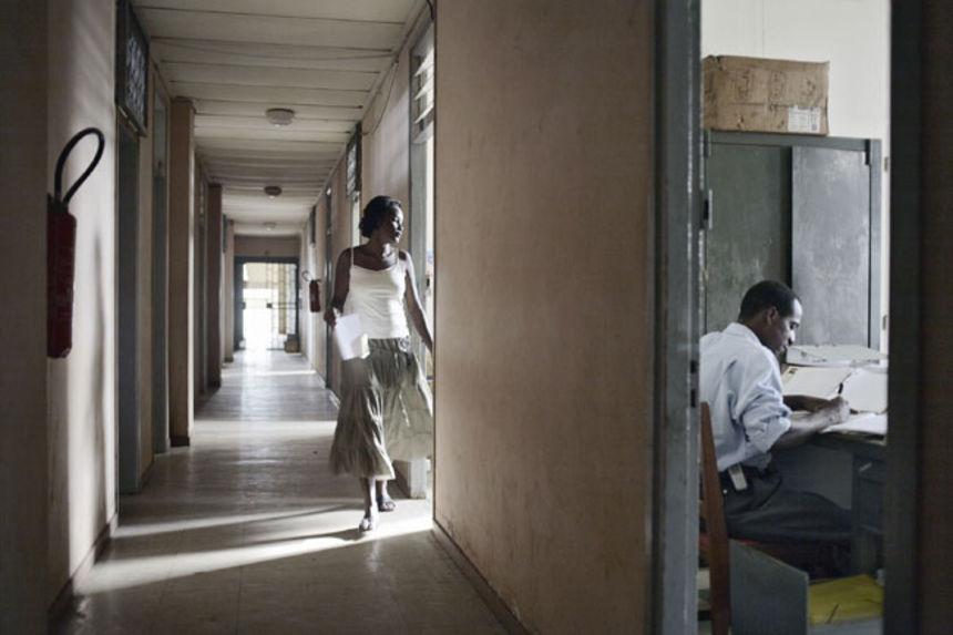 Administration building, Antsiranana, Madagascar, 2007