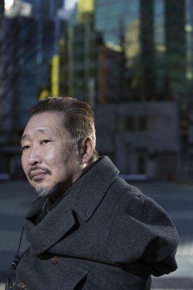 Portrait of a handicapped person, Tokyo