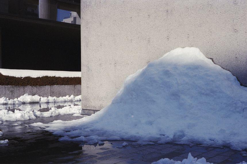 Snow melting, Tokyo