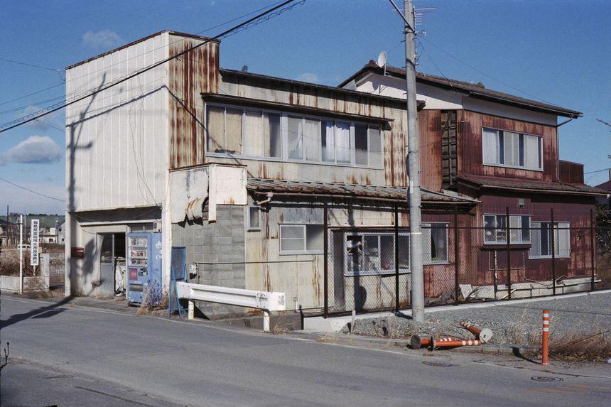 View of the town, Namie, Fukushima
