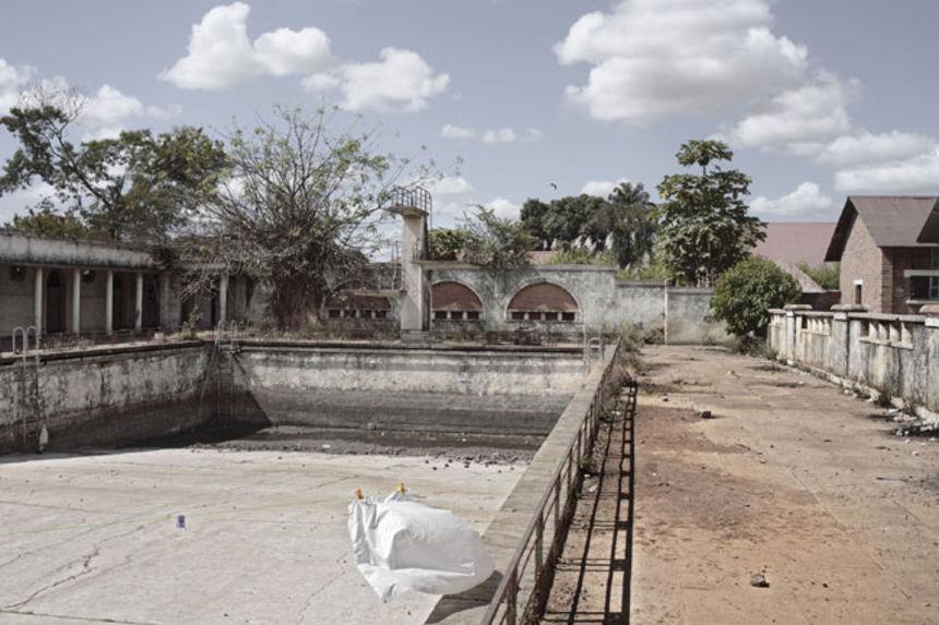 High school, Lubumbashi, DR Congo, 2007