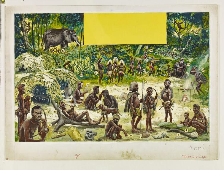 Pilotorama - Les Pygmées