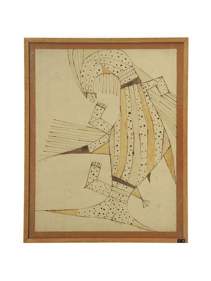 Motif de ciel de case : mulokot (poisson-esprit)