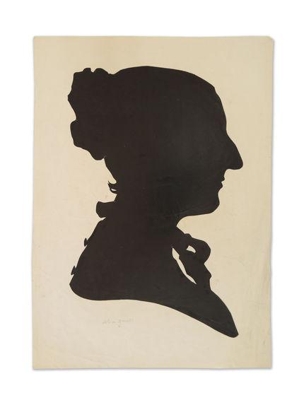 Portrait à la silhouette d'Alice Genet