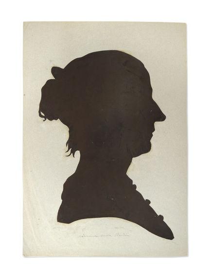 Portrait à la silhouette d'Amélie Flandin