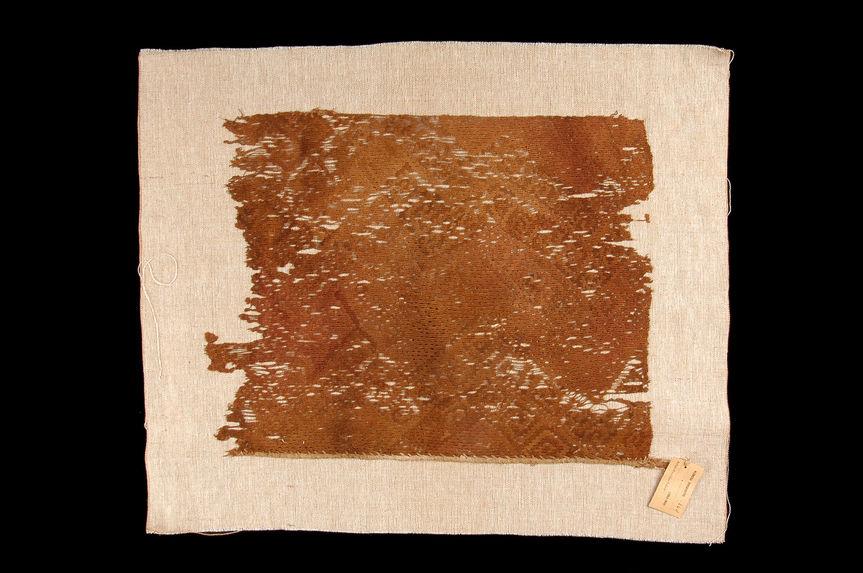 Pièce de tissu à décor géométrique