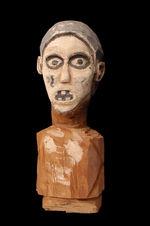 Sculpture anthropomorphe : buste