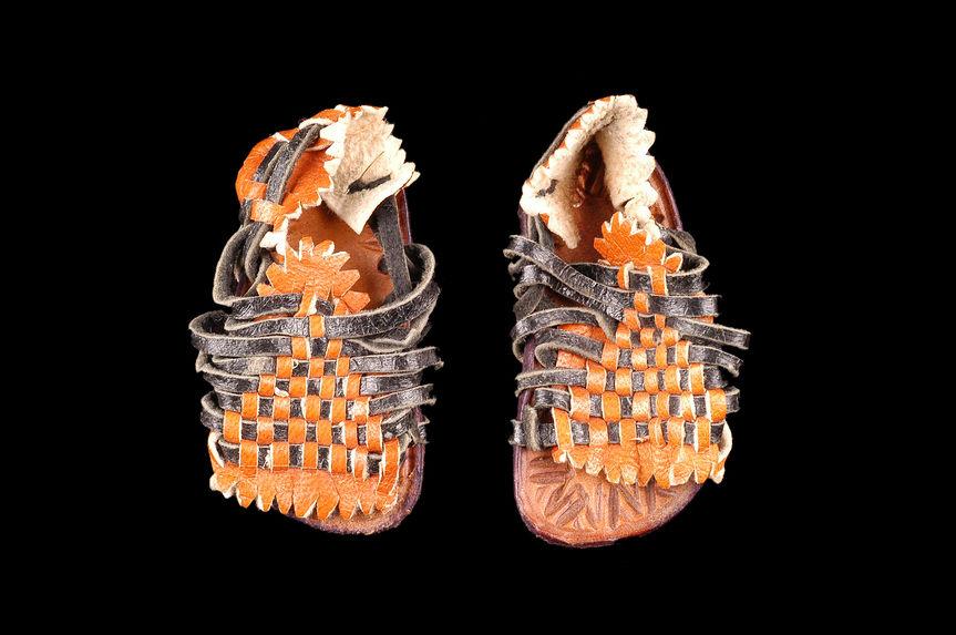 Sandales miniatures