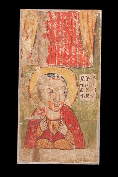 Peinture de l'église Abba Antonios : apôtre