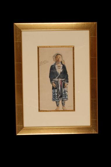 Portrait de femme Yao Tien