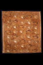 Pièce de tissu à décor de poissons