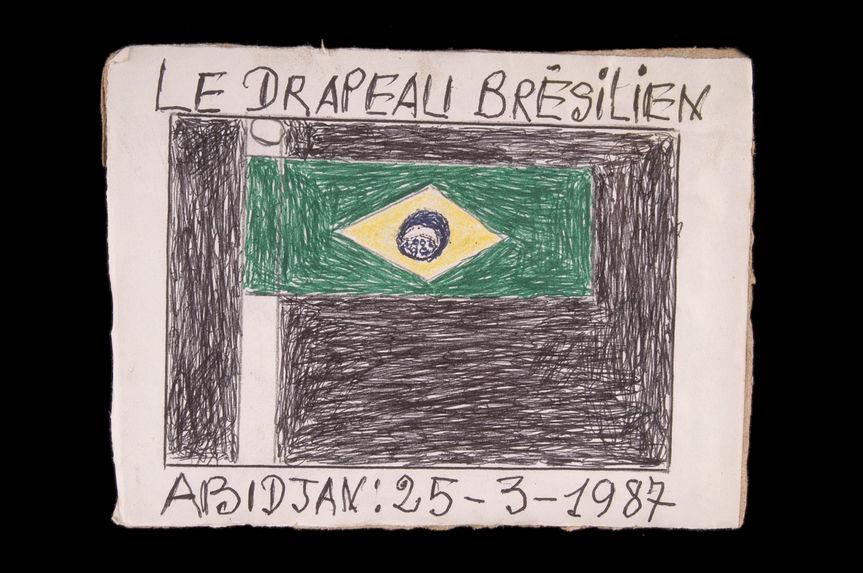 Dessin : Le drapeau brésilien