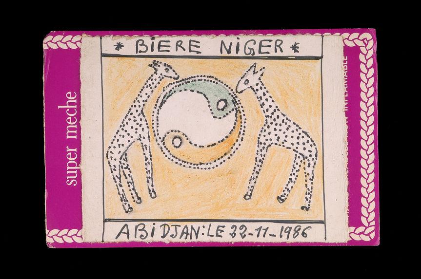 Dessin : Bière Niger