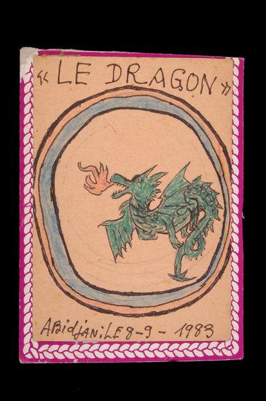 Dessin : Le dragon