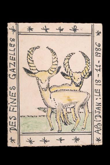 Dessin : Des fines gazelles