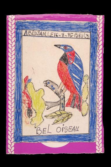 Dessin : Bel oiseau