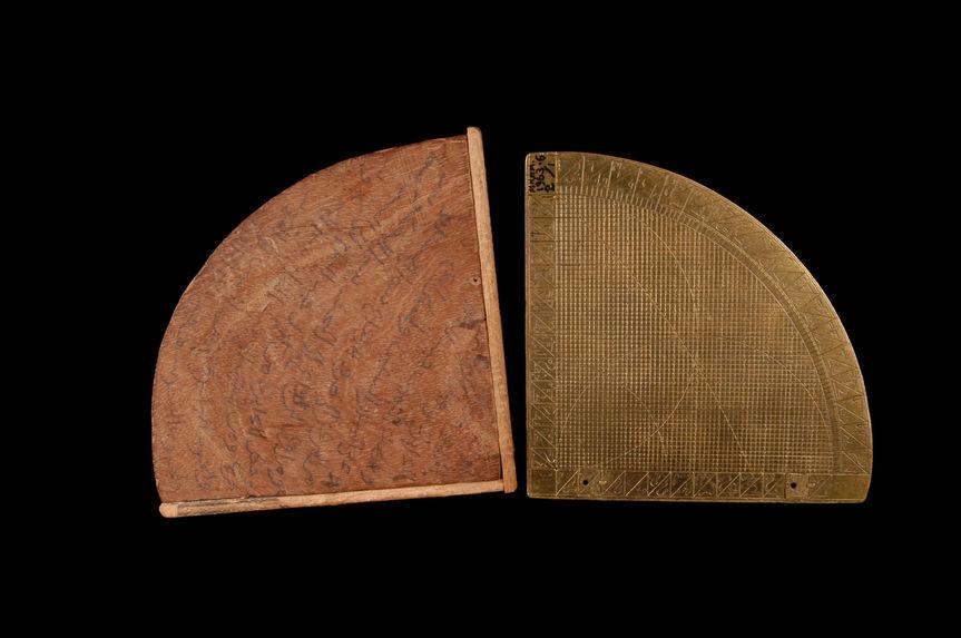Astrolabe-quadrant