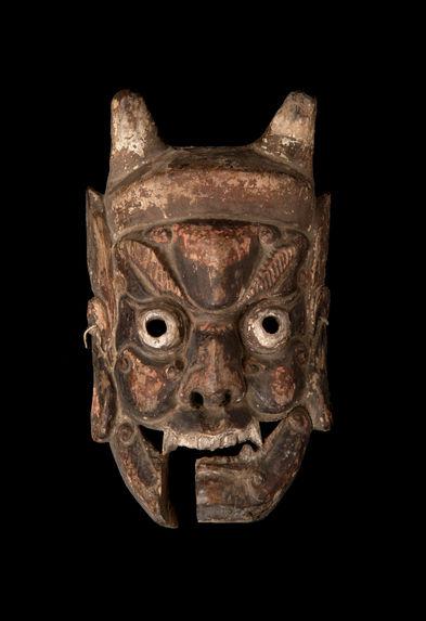 Masque du théâtre Nuo : Kaishan, celui qui ouvre la montagne