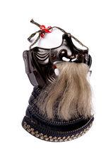 Armure de samouraï: demi masque