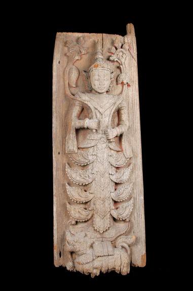 Gardien de porte de monastère bouddhique