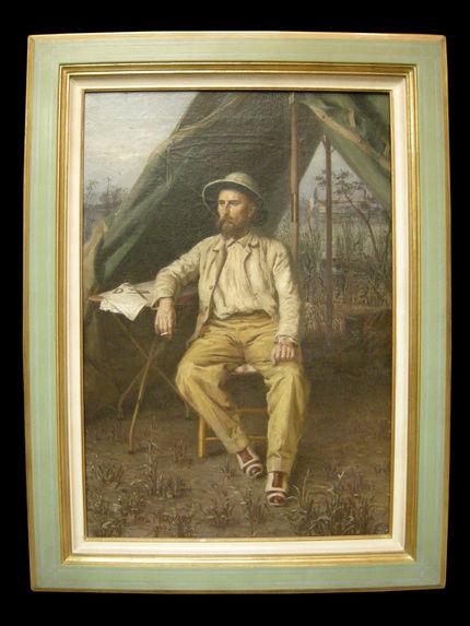 Portrait de l'explorateur Emile Gentil (1866 - 1914)