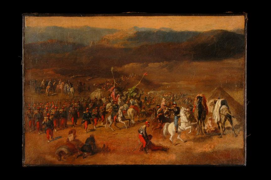 Prise de la smala d'Abd-el-Kader par le Duc d'Aumale 1843