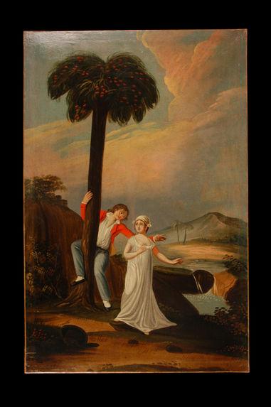 Paul et Virginie au bord de l'eau
