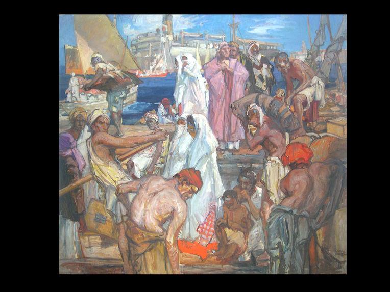 Pèlerins à Djeddah
