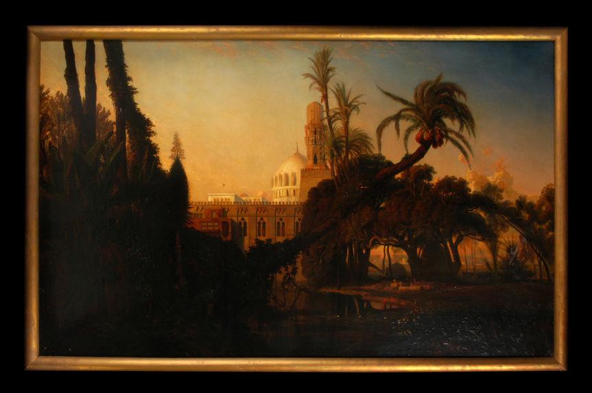 Mosquée dans la Basse Egypte