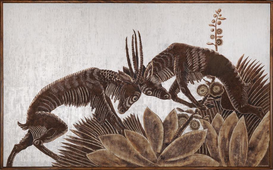 Antilopes affrontées