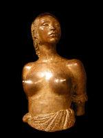 Buste de femme peulhe