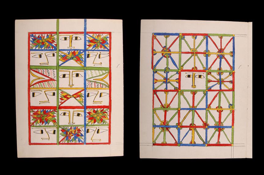 "Oeuvres graphiques : "" 7 montants ...&quot"