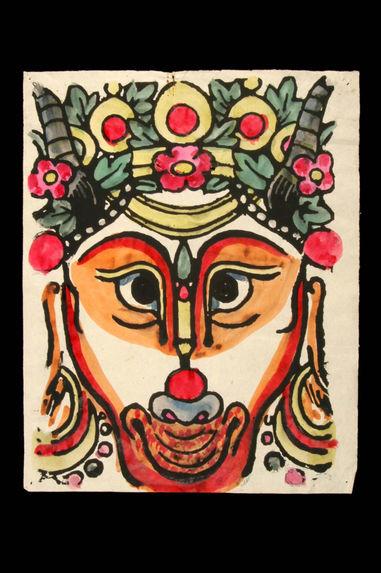 Peinture rituelle