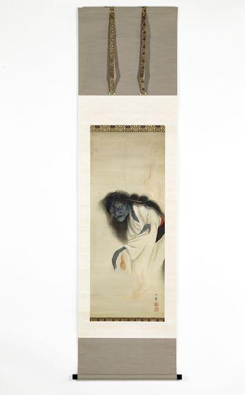 Peinture du fantôme d'Oiwa, signée Ikkyo