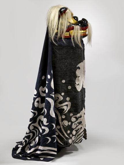 Masque et costume de lion (shishi)