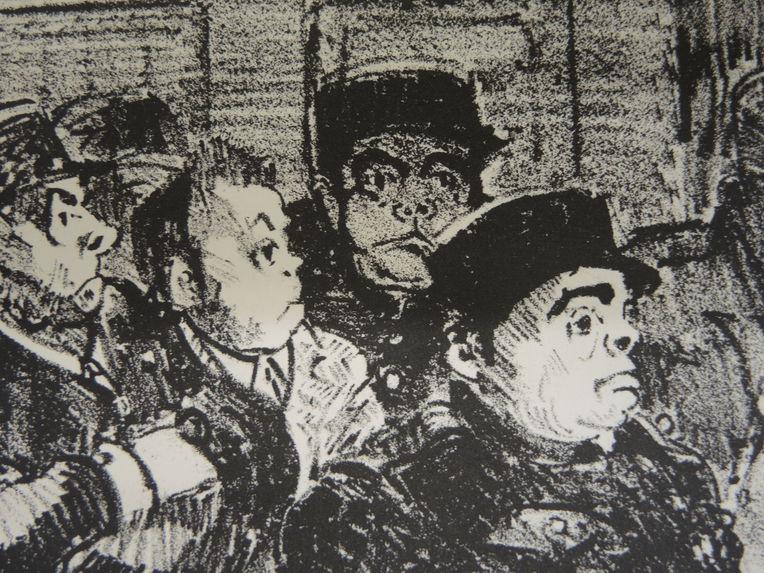 Patriotes algériens devant le tribunal, Blida, 4 février 1952