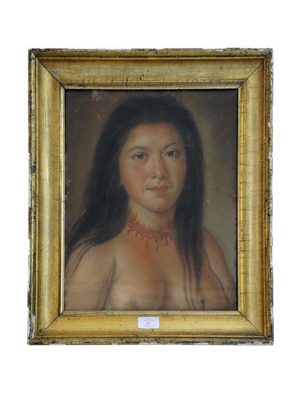 Portrait de femme des Iles Saint-Eustache