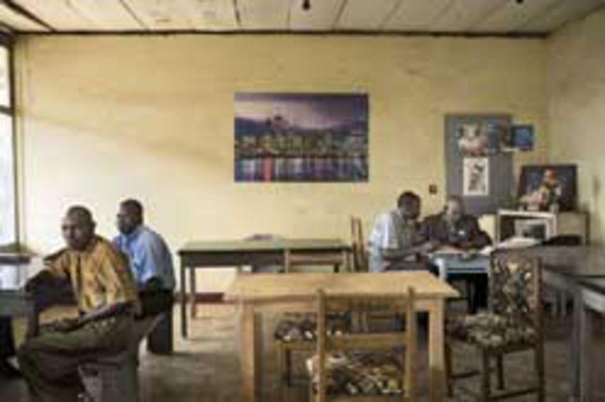 Administration office, Kolwezi, DR Congo, 2007