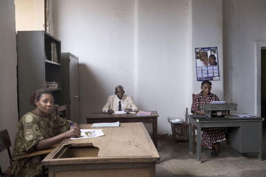 Typists, Likasi, DR Congo, 2007