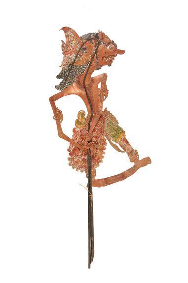 Figure de wayang kulit : Demang Bauh Denda deri Arjuna Sastra