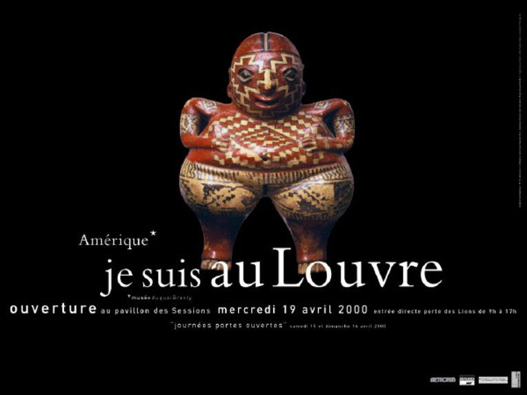 Amérique* Je suis au Louvre - Sculpture de Chupicuaro