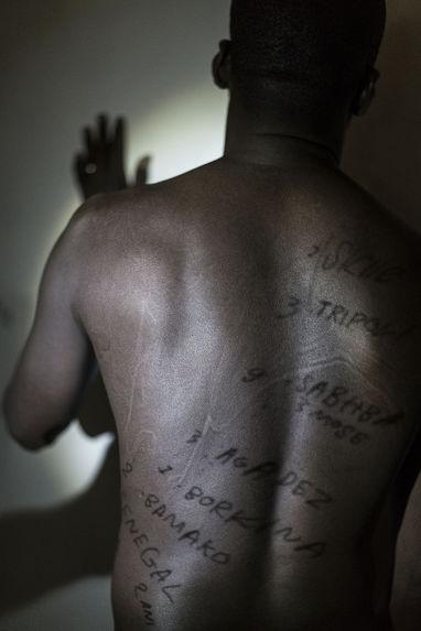 Body Maps : Workshop Halipha Secka, Rome, Refugee Scart