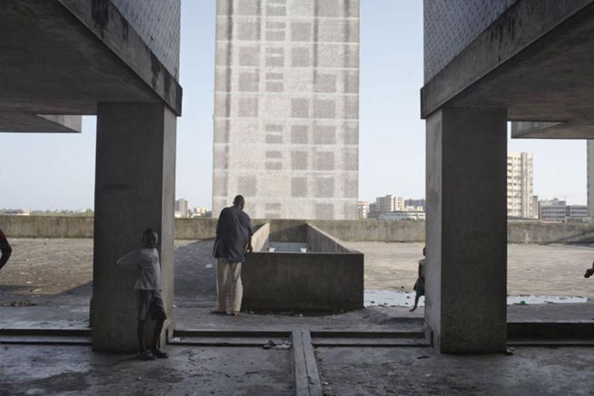 Apartment building, avenue Bagamoyo, Beira, Mozambique, 2008