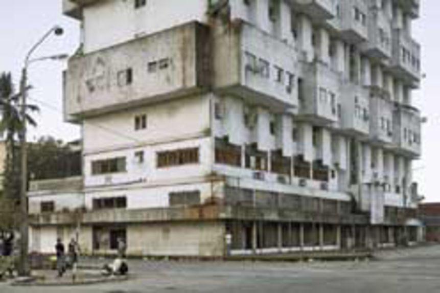 Apartment building, Beira, Mozambique, 2008