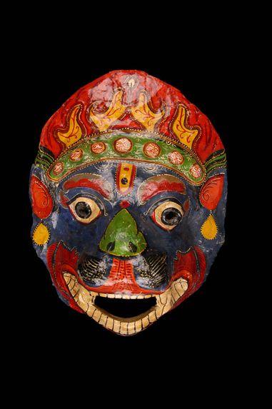 Masque rituel, tigre