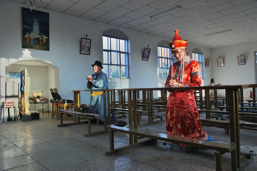 Une église des Mongols