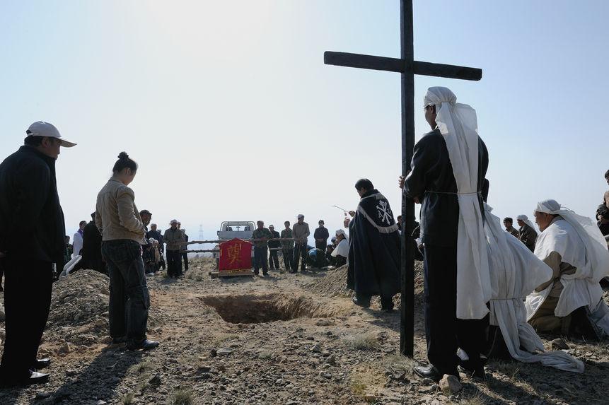 Un enterrement dans Gobi