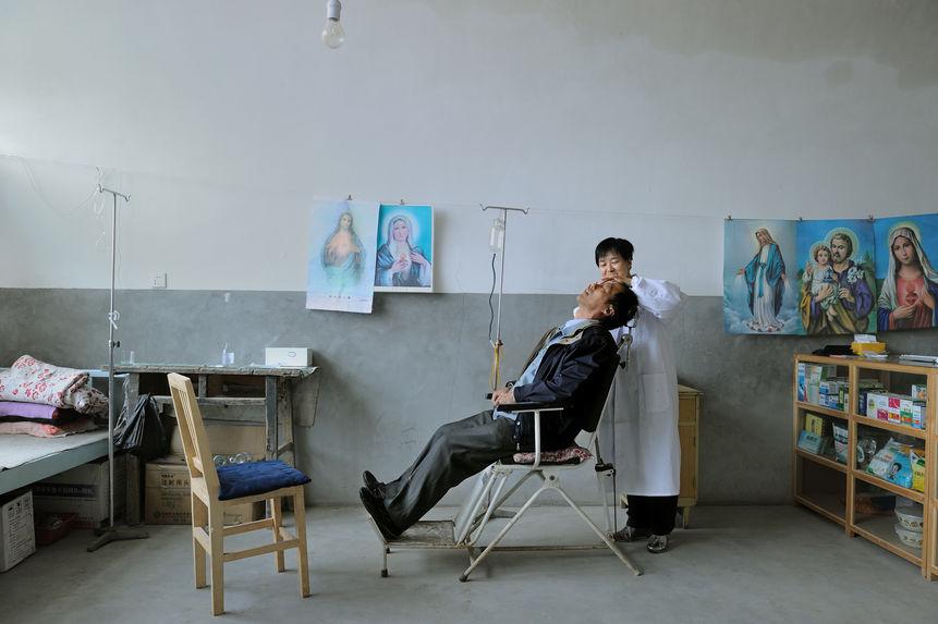 Une clinique chez une religieuse