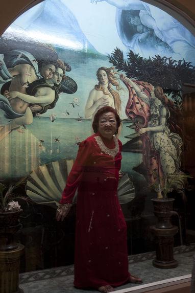 Chinese Peruvian fortune teller Rosita Chu at her home